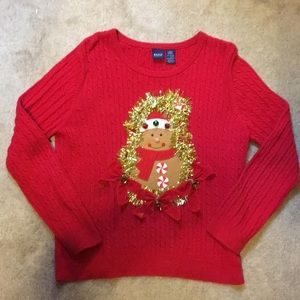 57% off Sweaters - Red cable knit Christmas sweater from Jaida's ...
